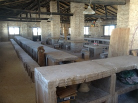 Salt tables & benches