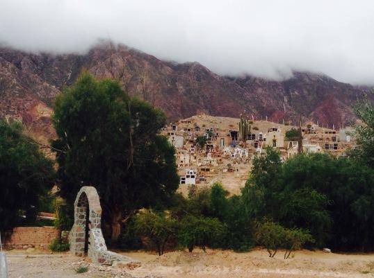 Hillside graveyard