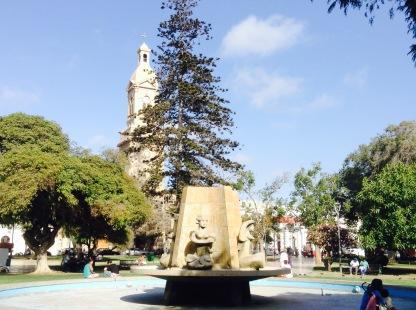 Main square La Serena