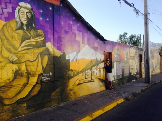 Villcara street art