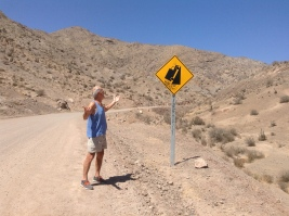 Most extreme hill sign yet!