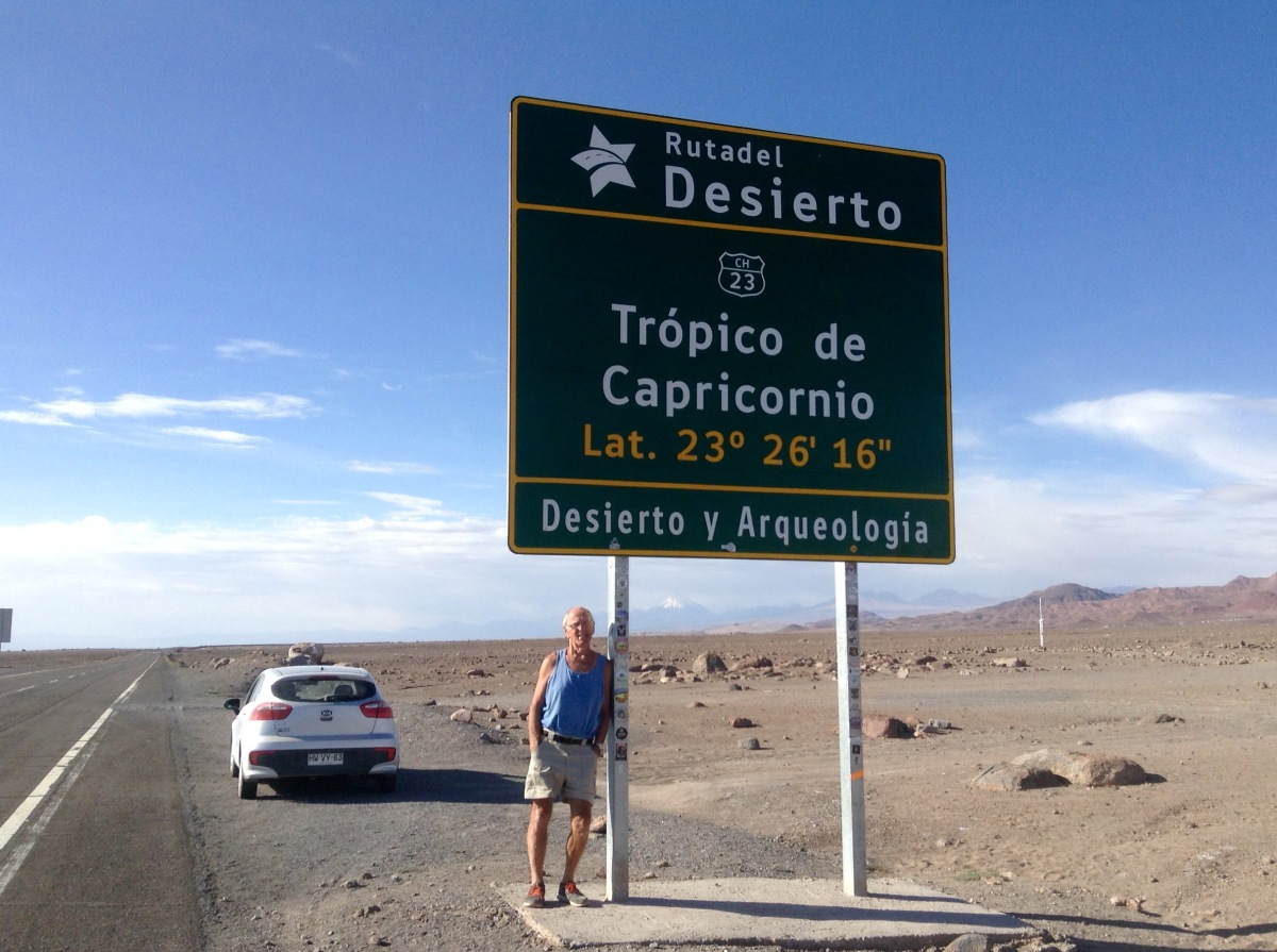 ✨🌓 Star Gazing, Pisco and the Tropic ofCapricorn