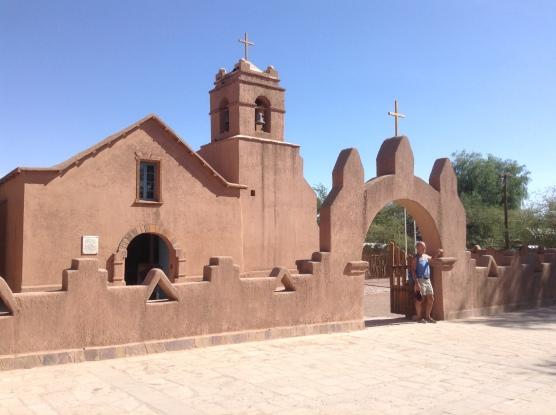 San Pedro church (built in 1500's)