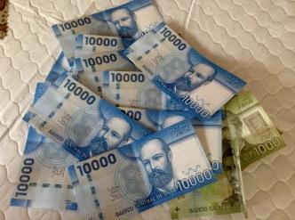 Almost 500 pesos to 1 CDN $