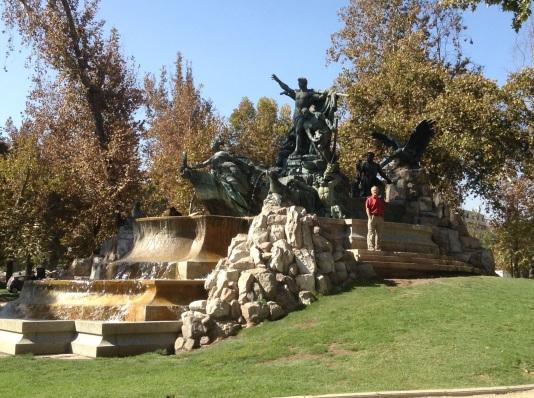 Parque Forestal monument