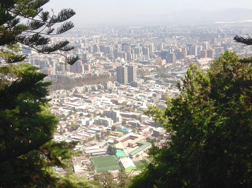 Santiago from Cerro San Cristobal