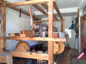 Blanket weaving