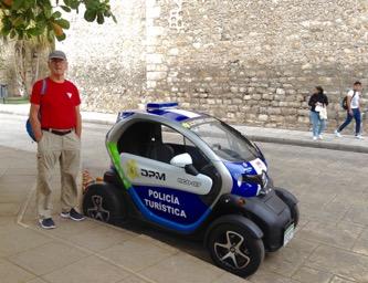 Smart car for smart police