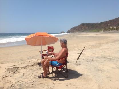 Playa Mermejita, Mazunte