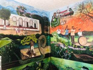 Fresco inside city hall
