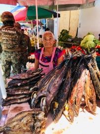 Marlita the fish lady