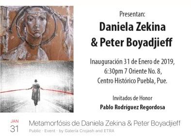 Invite to Daniela & Peter's opening